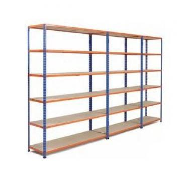 Z beam rivet boltless rack warehouse storage steel shelving system