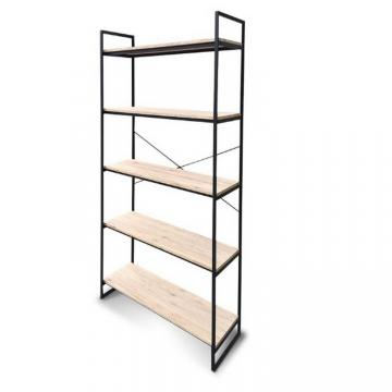 Durable book shelf 5 tiers storage display shelf for living room